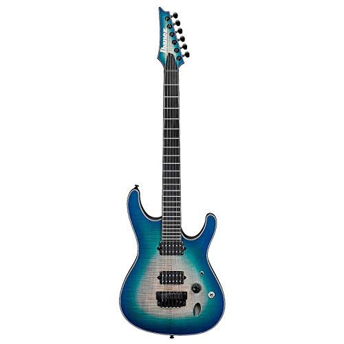 Ibanez S Series Iron Label SIX6FDFM - Blue Space Burst (Ibanez Iron Label)