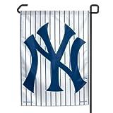 "MLB New York Yankees Pinstripes Garden Flag, 11""x15"", Team Color"