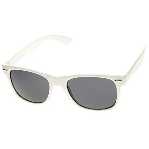 zeroUV - Classic Original Classic 80s Retro Horn Rimmed Style Sunglasses - Classic 80s Style