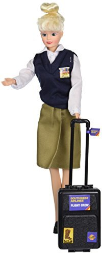 Daron Southwest Airlines Flight Attendant Doll by Daron