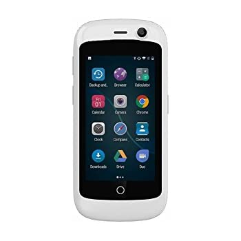 Unihertz Jelly Pro, The Smallest 4G Smartphone in The World, Android 7 0  Nougat Unlocked Smart Phone with 2GB RAM and 16GB ROM, Pearl White