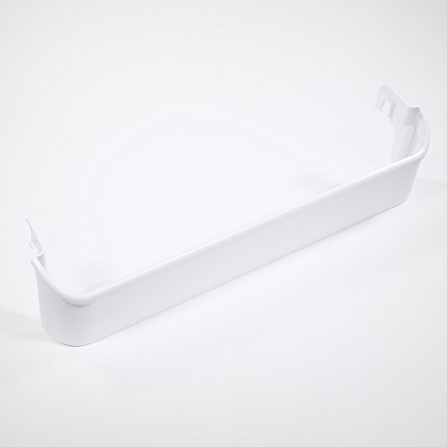 Freezer Door Shelf - Frigidaire 240338101 Refrigerator Door Bottom Shelf Bin, White