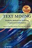 Text Mining (Lecture Notes in Computer Science)