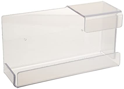 Zing 7220 Eco Dispensador de guantes, solo caja, soporte universal, claro, 10.5lx6wx4h, plástico reciclado: Amazon.es: Amazon.es