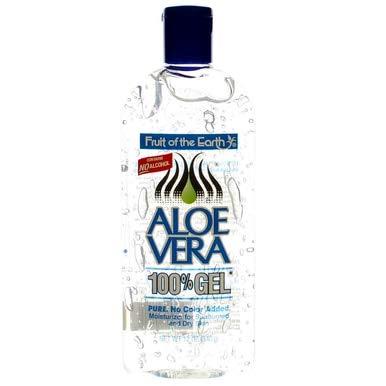 Fote Aloe Vera 100% Gel, 12 Oz each (340g),6 pack