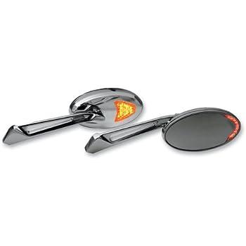 Amazon Com Kuryakyn 1431 Turn Signal Mirror With Flat