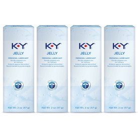 K-Y Jelly Personal Lubricant 2 oz (Pack of 4) by K-Y Day