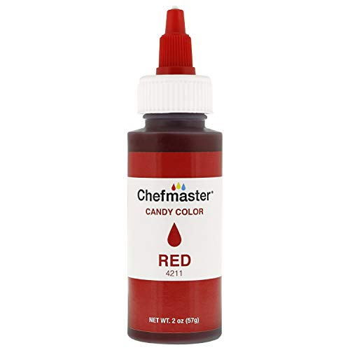 Chefmaster by US Cake Supply 2-Ounce Liquid Candy Food Color Color Red