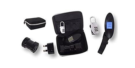 Dakota - Set Viaje Bascula Maletas y Gadgets Electronicos - 27685DK: Amazon.es: Hogar