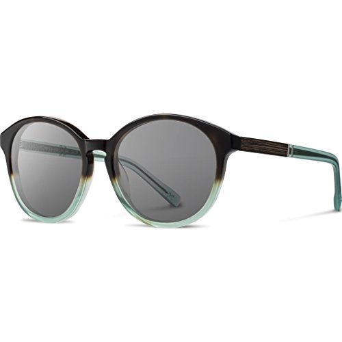 Shwood - Bailey Acetate, Sustainability Meets Style, Sea Moss, Grey - Sunglasses Bailey