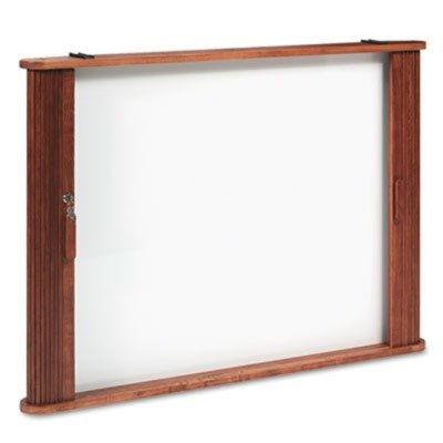 Best-Rite 25010 - Conference Room Cabinet, Magnetic Dry Erase Board, 44 x 4 x 32, Medium Oak by Best-Rite