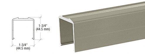 Beige Gray Bottom Rail for Pickets 241