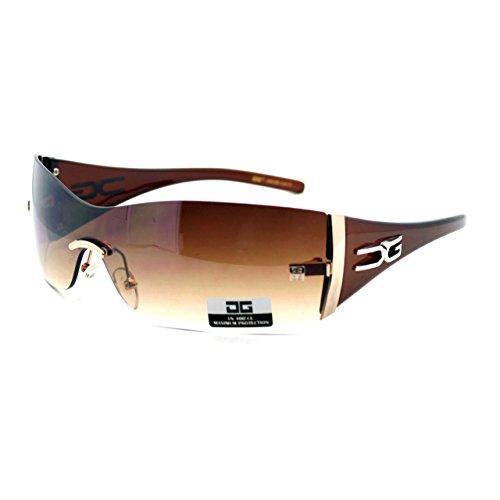 Metal Rimless Sunglasses - 2