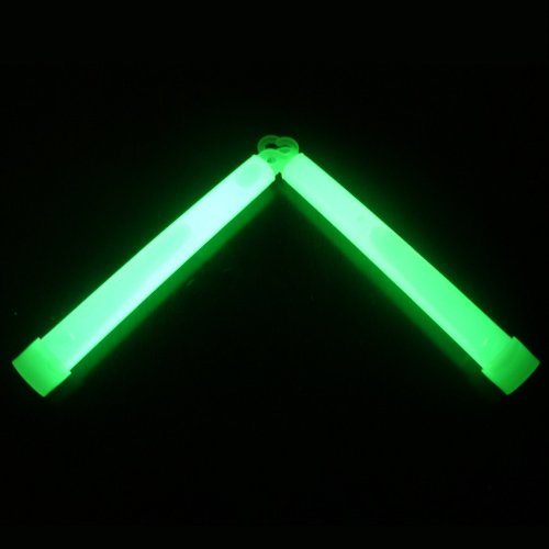 Emergency Industrial Grade Light Sticks Used for Safety, By Professionals Providing a High Intensity Luminous Glow - Similar to Military Grade Glowsticks - Order Your 12 - 24 Hours , 6