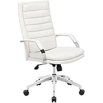 Superior ZUO MODERN Director Comfort Office Chair, White