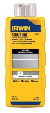 (Irwin Strait Line 64904 Chalk White 8Oz)