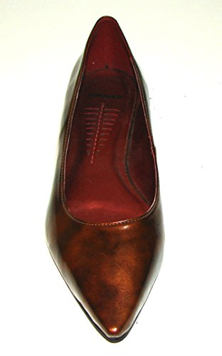 Bronx Women Shoes Leather Flats Winy Size eu39 us9-9.5m Made in Brazil.