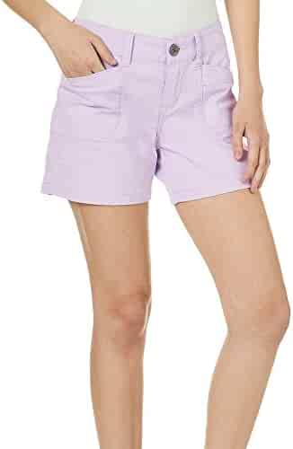 UNIONBAY Womens Darcy Stretch 5 Inseam Short