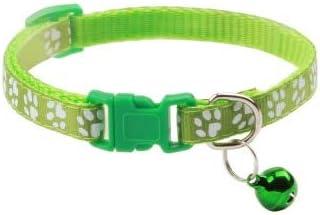 ZGQA-GQA 1pcs Supplies Cat Collar with Bell Adjustable Buckle Collar Cat Pet Supplies Cat Accessories Collar Small Dog - Kitten Harness - Dog Grooming Supplies-1 Pcs-19-32cm-19-32cm