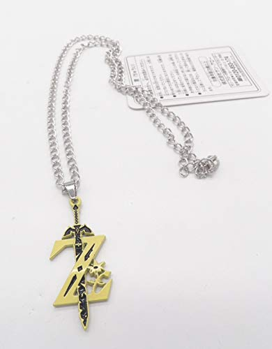 Yuna Kingdom Hearts - The Legend Of Zelda Sword Alloy Metal Pendant Necklace ~Cosplay~ #3