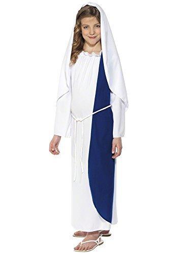 Niñas infantil Virgen María Belén de Navidad Disfraz Traje 4 - 12 ...