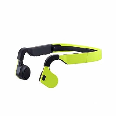PowerRider Bone Conduction Headphones IP54 Waterproof Noise Cancelling Mic Handfree Bluetooth Sport Running Headphones