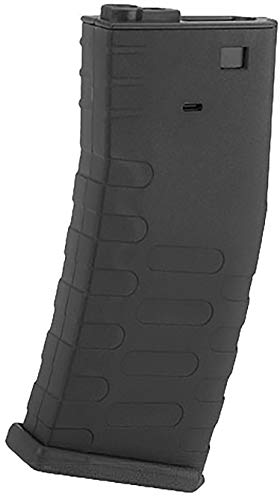 Evike APS 300rd U-Mag Hi-Capacity Magazine for M4 / M16 / UAR Series Airsoft AEG Rifles (Color: Black) ()