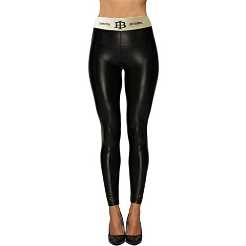 CCatyam Plus Size Yoga Pants for Women, Trouser High Waist Legging Slim Solid Running Casual Fashion Black