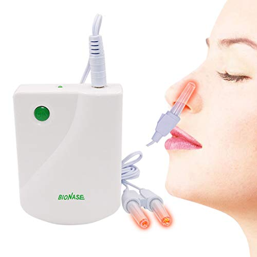 Proxy BioNase Nose Rhinitis Sinusitis Cure Therapy Massage Hay Fever Low Frequency Pulse Laser Nose Health Care Cleaning Machine
