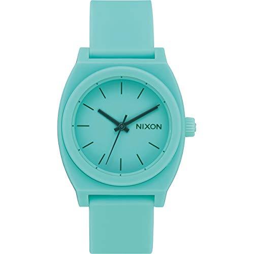 Nixon A1215-272 Medium Time Teller P Women's Watch Seafoam Polyurethane