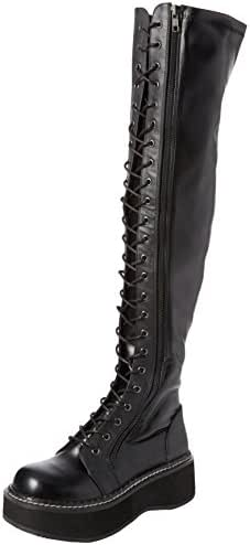 Demonia Women's EMILY-375 Over The Over The Knee Boot