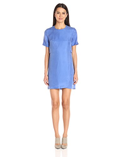 AX-Armani-Exchange-Womens-Short-Sleeve-Double-Layer-Dress