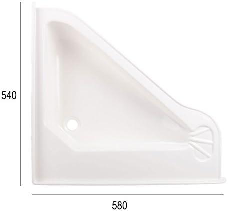 colore: bianco Roulotte Camper lavabo Gross, in plastica ABS L//B//T : 580/X 540/X 90/mm