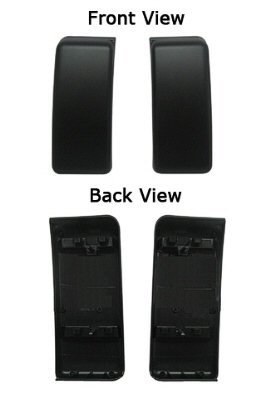 11 12 13 14 Ford F150 Front Bumper Insert Cap Delete Panel Set Pair of 2 Ecoboost 3.5l FO1053100