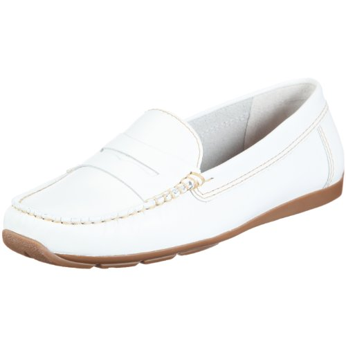 Clarks Hill Side, Women's Mocassins White (White Smooth)