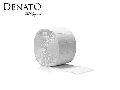 500PCS Nails salviette cotone, alta qualità Dust free Denato