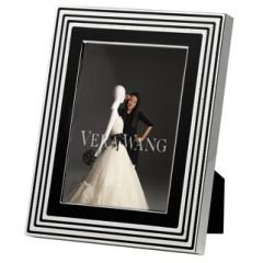 Vera Wang Metalware With Love Noir Picture Frame 5X7 -  091574183947