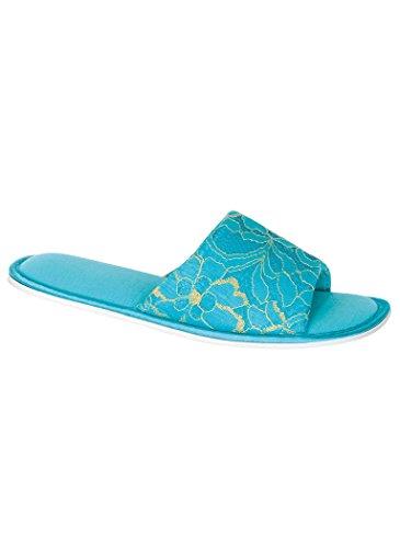 Pantofole Da Donna Color Oro Amerimark Blu