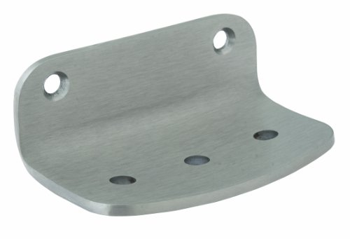 Bradley 900-000000 Surface Mount Heavy Duty Stainless Steel Soap Dish, 5