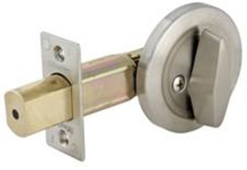 Master Lock DSC0532D Commercial One Sided Cylinder Deadbolt, Satin Chrome    Door Dead Bolts   Amazon.com