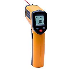 Outest Laser Digital Thermometer Gun Non Contact Infrared Thermometer Temperature Pyrometer Ir Laser Point Gun 50 380℃ 58 °f 716°f