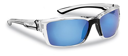 44d5aa814b5 Flying Fisherman Cove Crystal w Smoke Blue Mirror Sunglasses