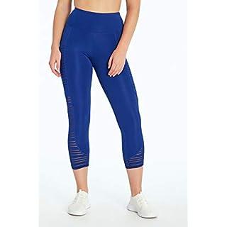 Marika Kayden High Rise Capri Legging, Sodalite Blue, Large