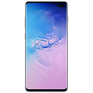 Samsung Galaxy S10+ Factory Unlocked Android Cell Phone | US Version | 128GB of Storage | Fingerprint ID and Facial Recognition | Long-Lasting Battery | Prism Blue (SM-G975UZBAXAA)