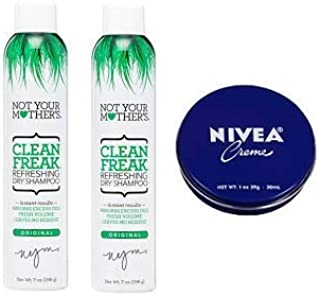 product image for Not Your Mother's 2 Pack Clean Freak Dry Shampoo 7 Oz. + Travel Size Body Cream 1 Oz.