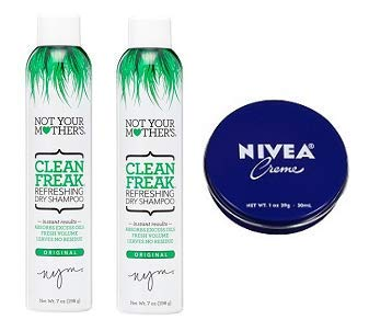 Not Your Mother's 2 Pack Clean Freak Dry Shampoo 7 Oz. + Travel Size Body Cream 1 Oz. by Not Your Mother's