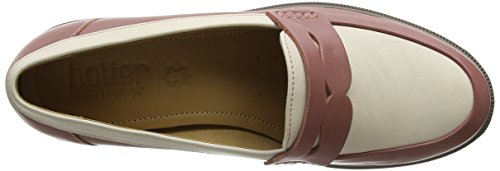 Salmon Dorset Cream Loafers Women's Pink Hotter wqxIO57pcx
