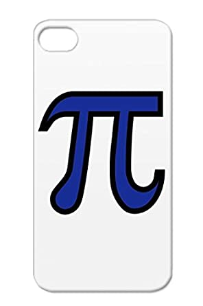 Tpu Pi Case Cover For Iphone 4s Navy Pie Symbol Engineer Geek Pi