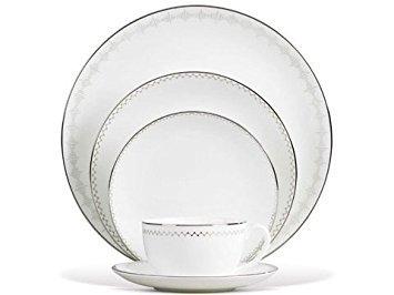 Vera Wang Notions - Vera Wang China: Vera Notions Rim Soup Plate - 9