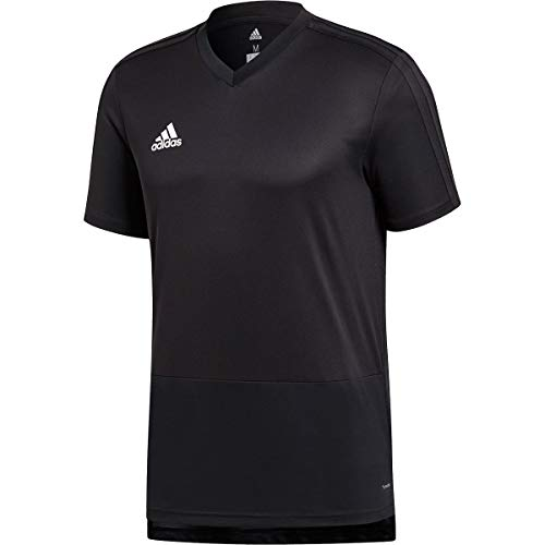 adidas Condivo 18 Training Jersey Men's Soccer L Black-White